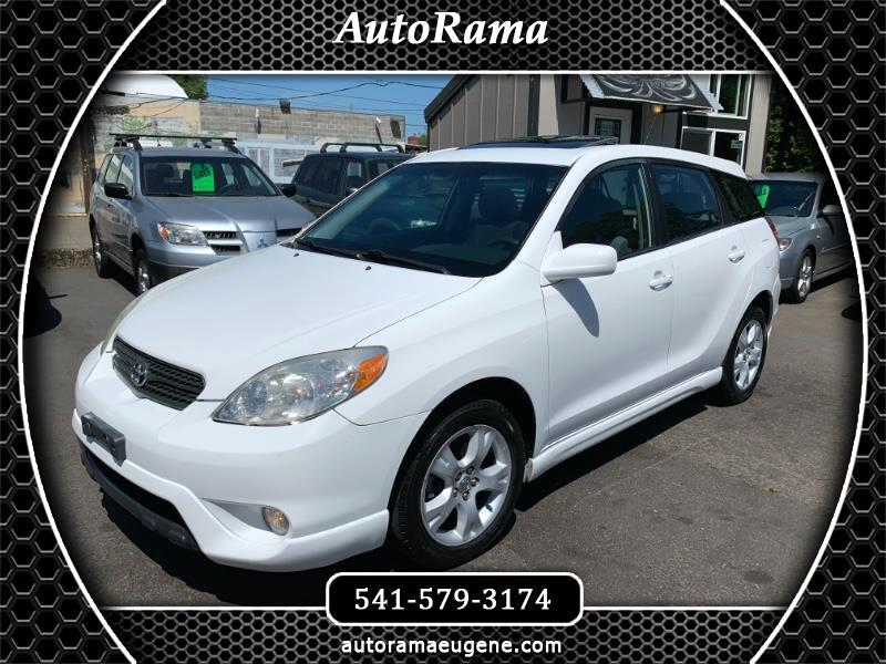 2005 Toyota Matrix XR 4WD