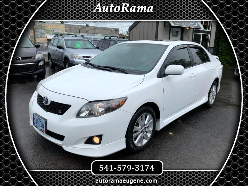 2010 Toyota Corolla S SPORT / LOW MILEAGE / CLEAN TITLE