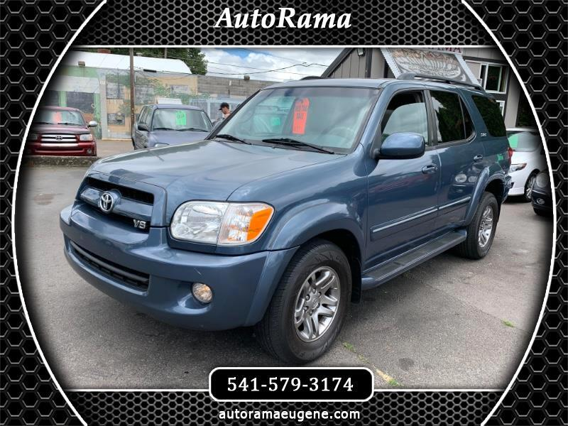 2007 Toyota Sequoia LIMITED / 4X4 / 3RD ROW / T BELT REPLACED