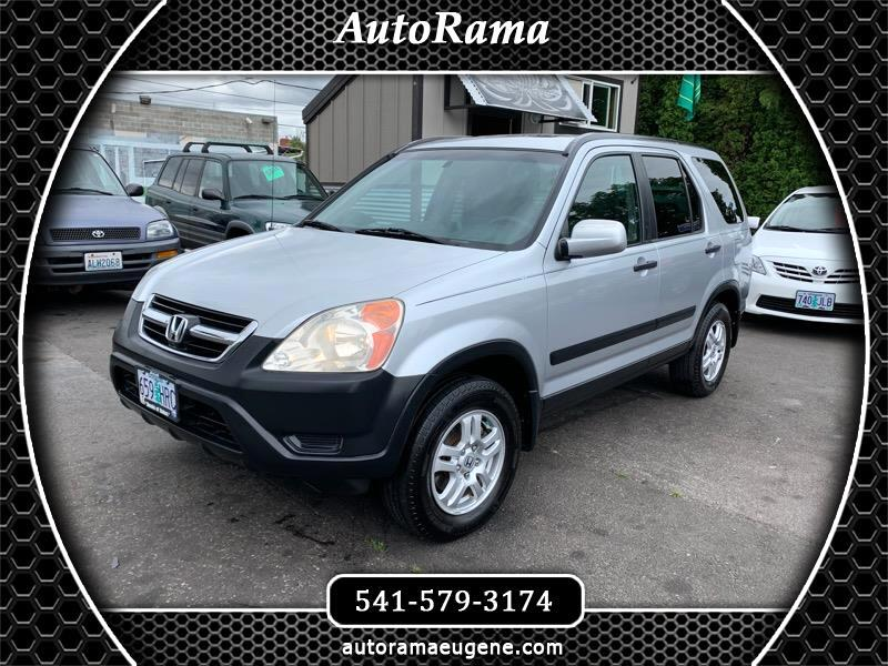 2004 Honda CR-V EX / 4WD / SUPER CLEAN AND WELL MAINTAINED