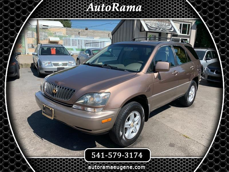 1999 Lexus RX 300 AWD - 101K - LIKE NEW CONDITION - NEW T-BELT