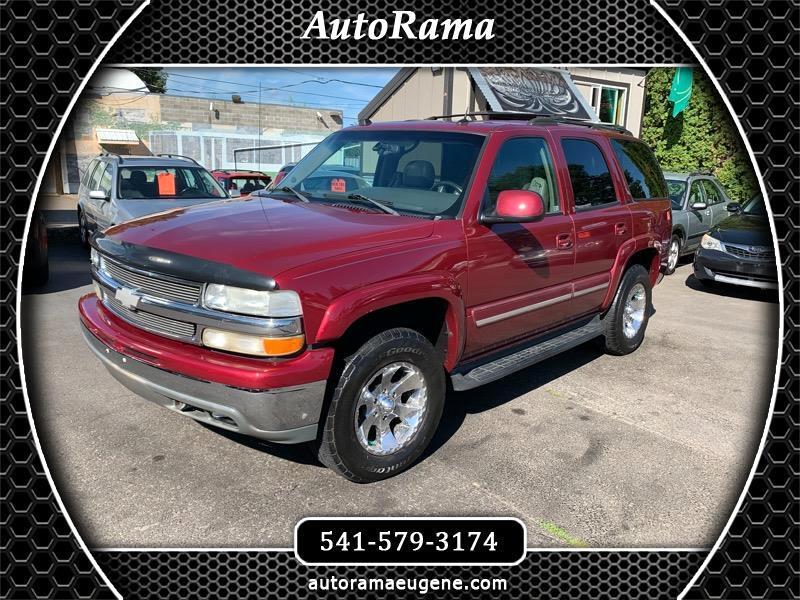 2004 Chevrolet Tahoe 4X4 / VORTEC / NEW TIRES / LOADED!