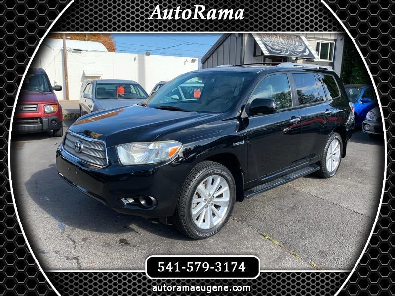 2008 Toyota Highlander Hybrid 4WD / 3RD ROW / T BELT REPLACED / NEWER TIRES!