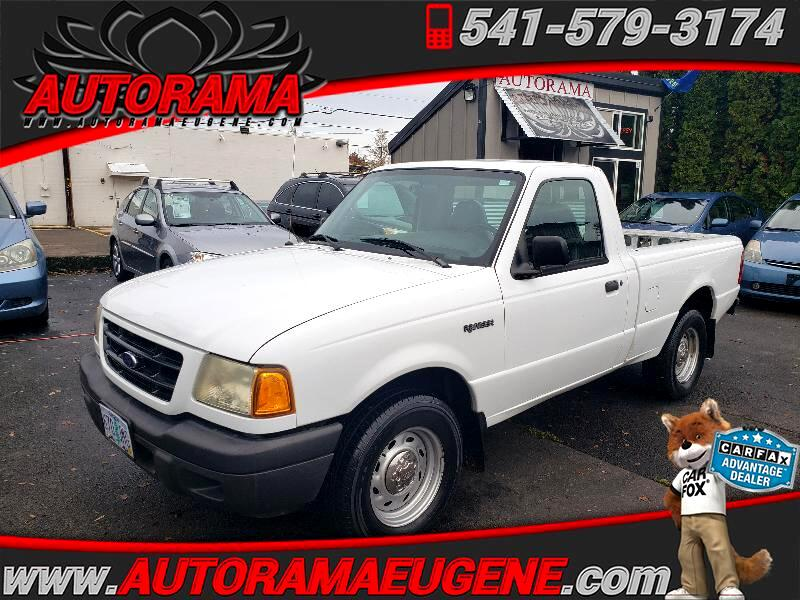 Ford Ranger XL Short Bed 2WD - 311A 2002