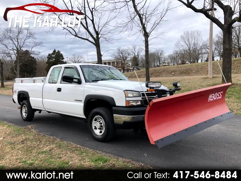 Chevrolet Silverado 2500HD Work Truck Ext. Cab Long Bed 4WD 2006