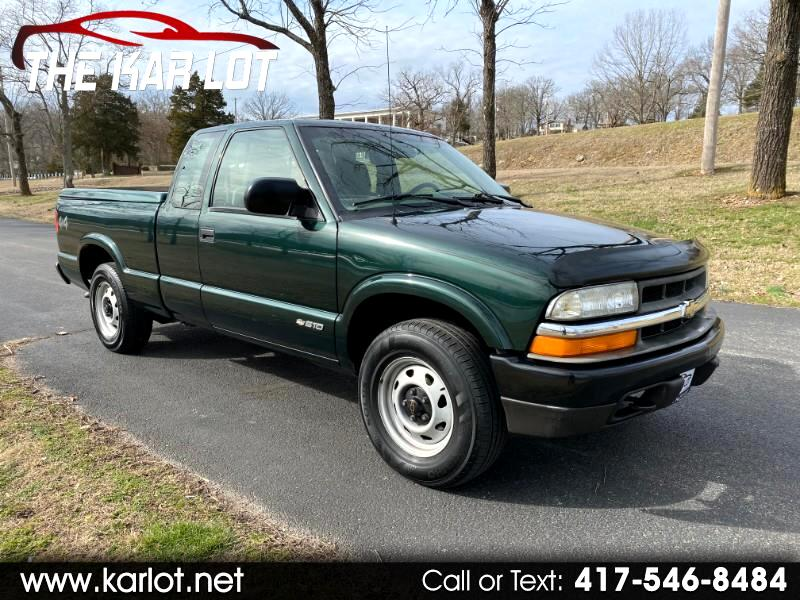 Chevrolet S10 Pickup Ext. Cab 4WD 2002