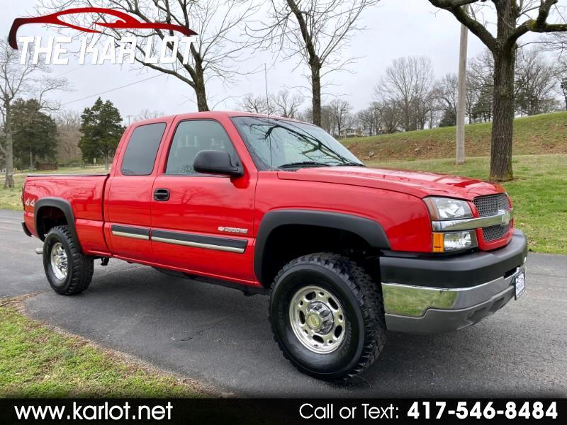 Chevrolet Silverado 2500HD LS Ext. Cab Short Bed 4WD 2003