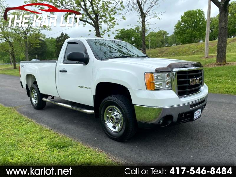 GMC Sierra 2500HD Work Truck 4WD 2009