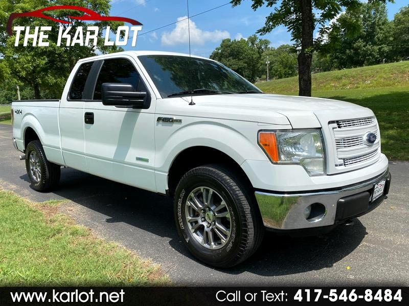 Ford F-150 SuperCab Short Bed 4WD 2013