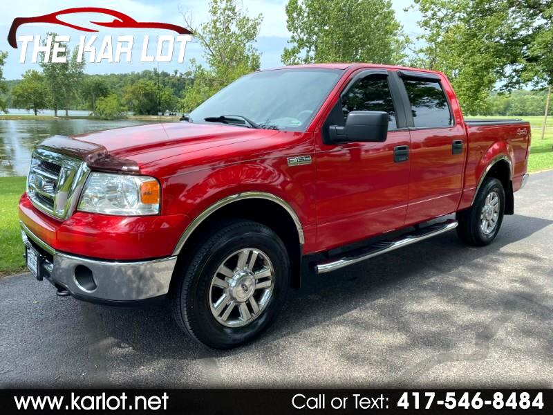 Ford F-150 XLT SuperCrew Short Box 4WD 2008