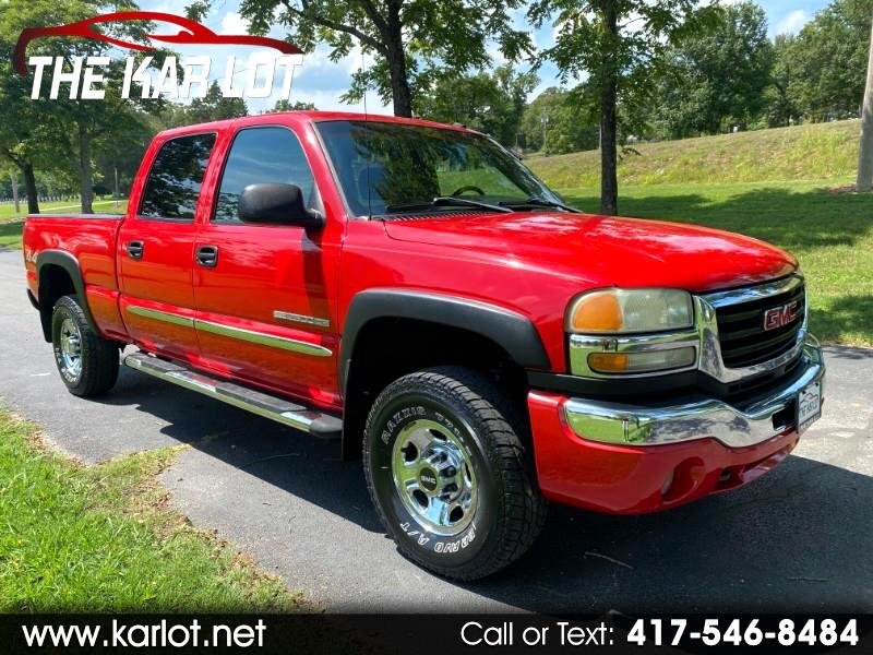 GMC Sierra 2500HD Crew Cab Short Bed 4WD 2003