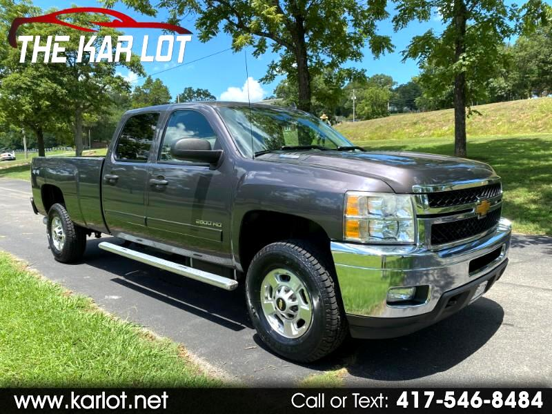 Chevrolet Silverado 2500HD LT Crew Cab Long Box 4WD 2011