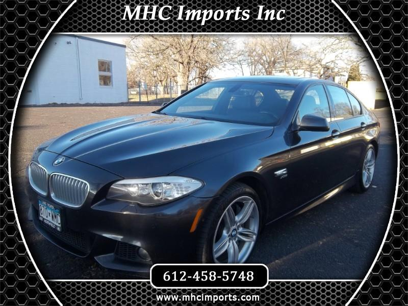2011 BMW 5 Series 4dr Sdn 550i xDrive AWD