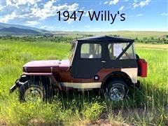 1947 Willys CJ3A