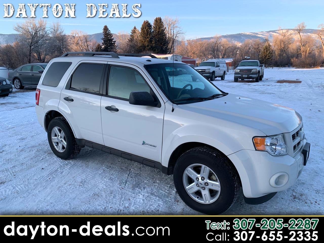Ford Escape Hybrid Limited 4WD 2011