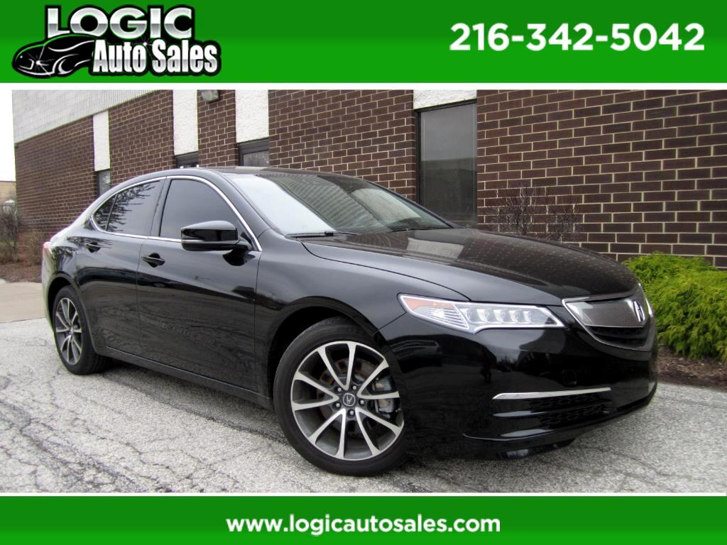 2017 Acura TLX 9-Spd AT w/Technology Package