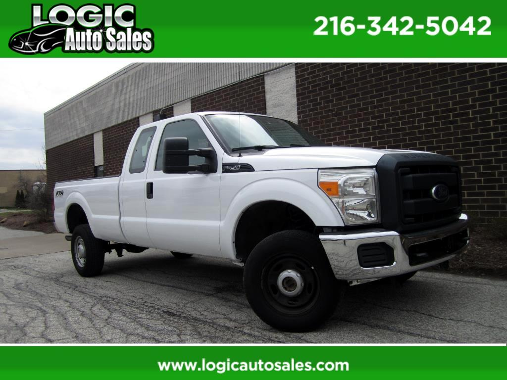 2012 Ford F-350 SD XL SuperCab Long Bed 4WD