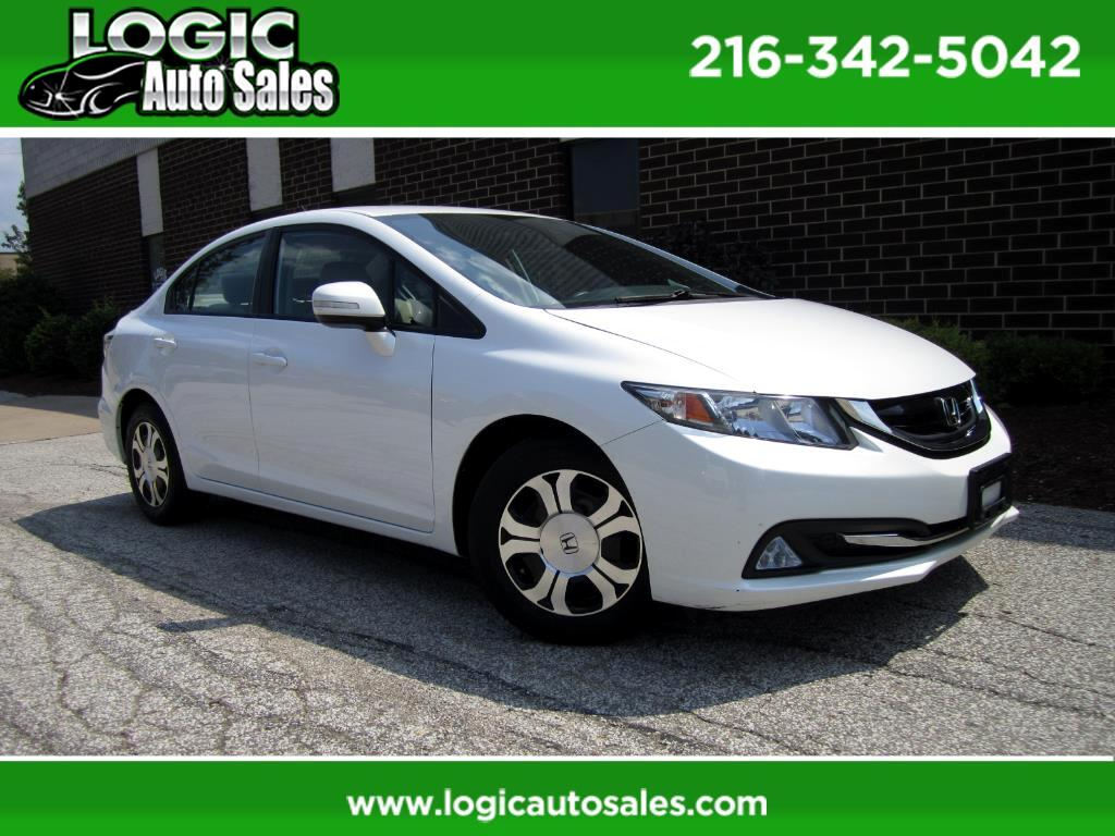 2013 Honda Civic Hybrid CVT AT-PZEV