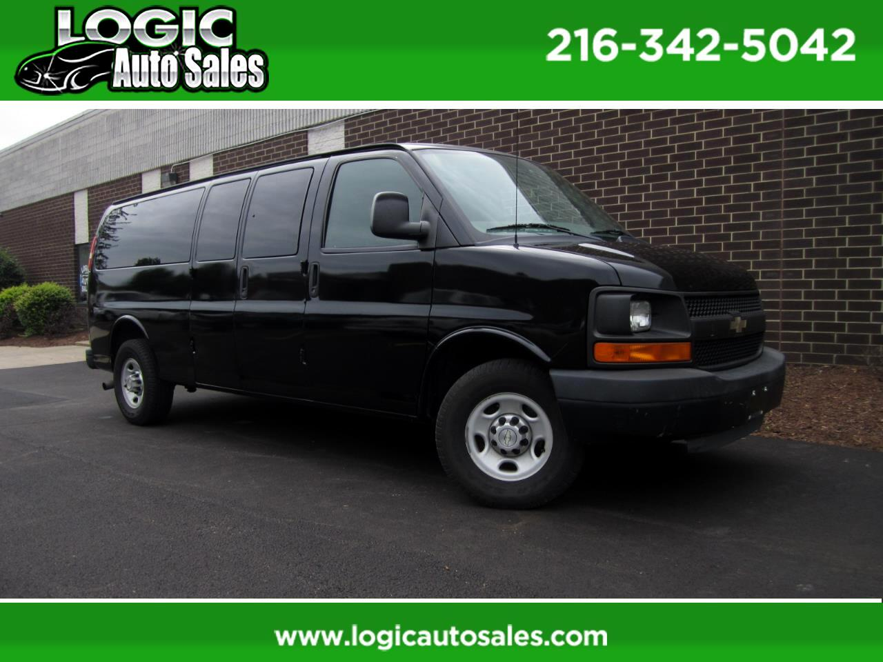 "Chevrolet Express Passenger RWD 3500 155"" LS 2010"