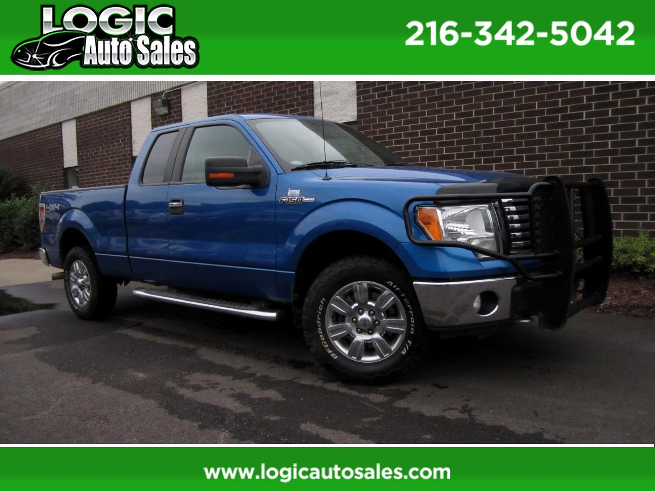 "Ford F-150 4WD SuperCab 145"" XLT 2010"