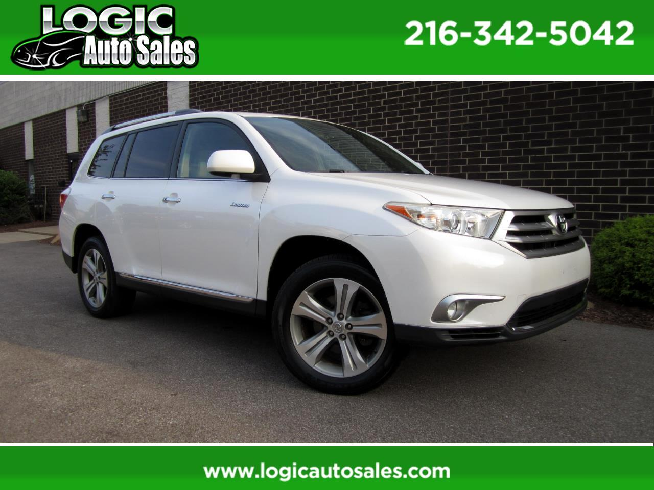 Toyota Highlander 4WD 4dr V6  Limited (Natl) 2011