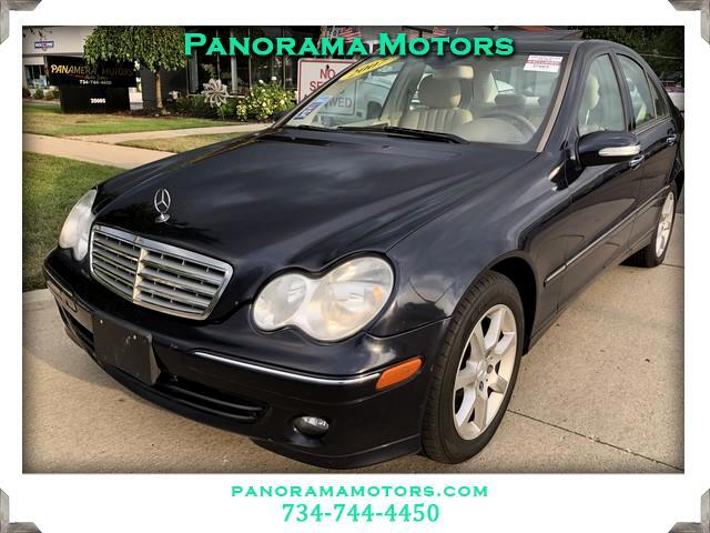 2007 Mercedes-Benz C-Class C280 Luxury Sedan 4Matic