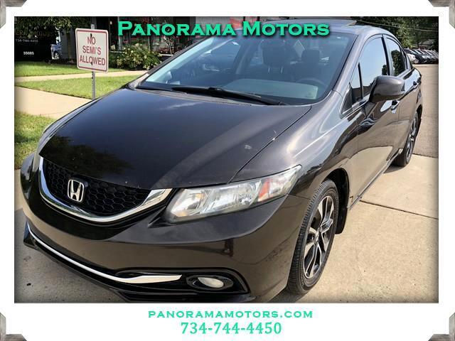 2013 Honda Civic EX-L Sedan 5-Speed AT
