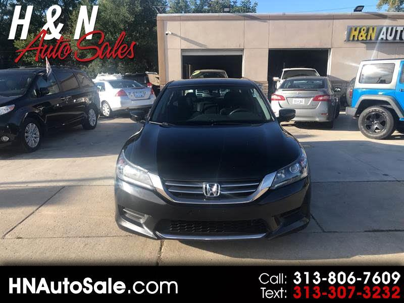2013 Honda Accord 4dr I4 CVT LX