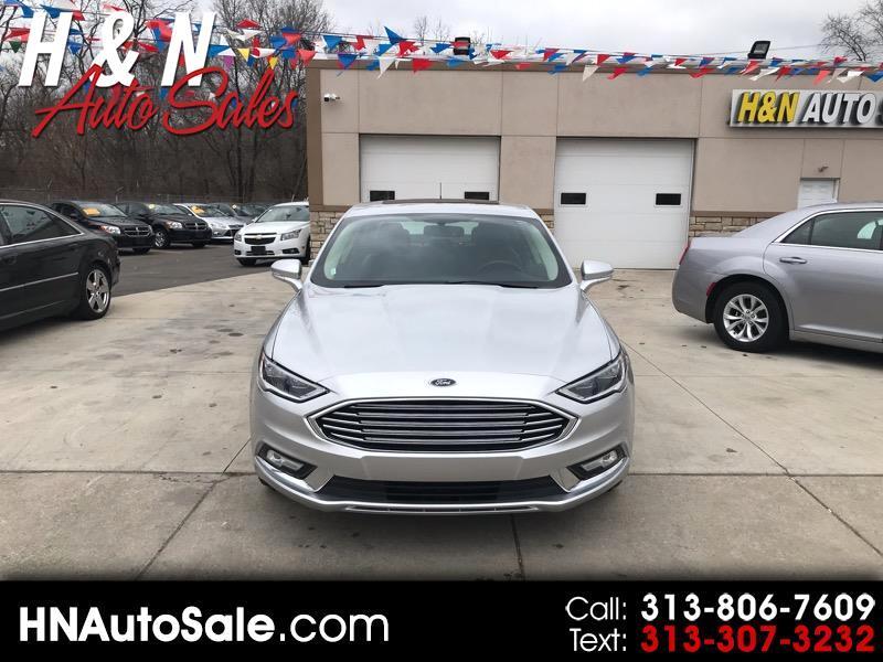 2018 Ford Fusion 4dr Sdn Titanium AWD