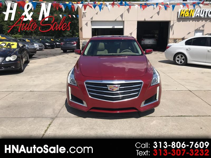 Cadillac CTS 4dr Sdn 3.6L Luxury Collection AWD 2016