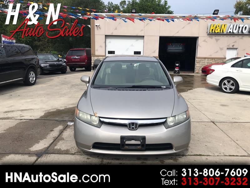2006 Honda Civic LX AT