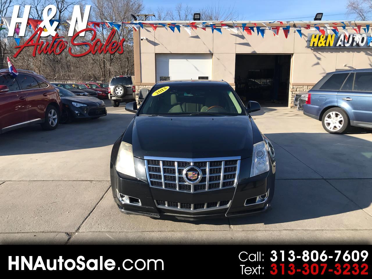 Cadillac CTS Wagon 5dr Wgn 3.0L Luxury RWD 2013