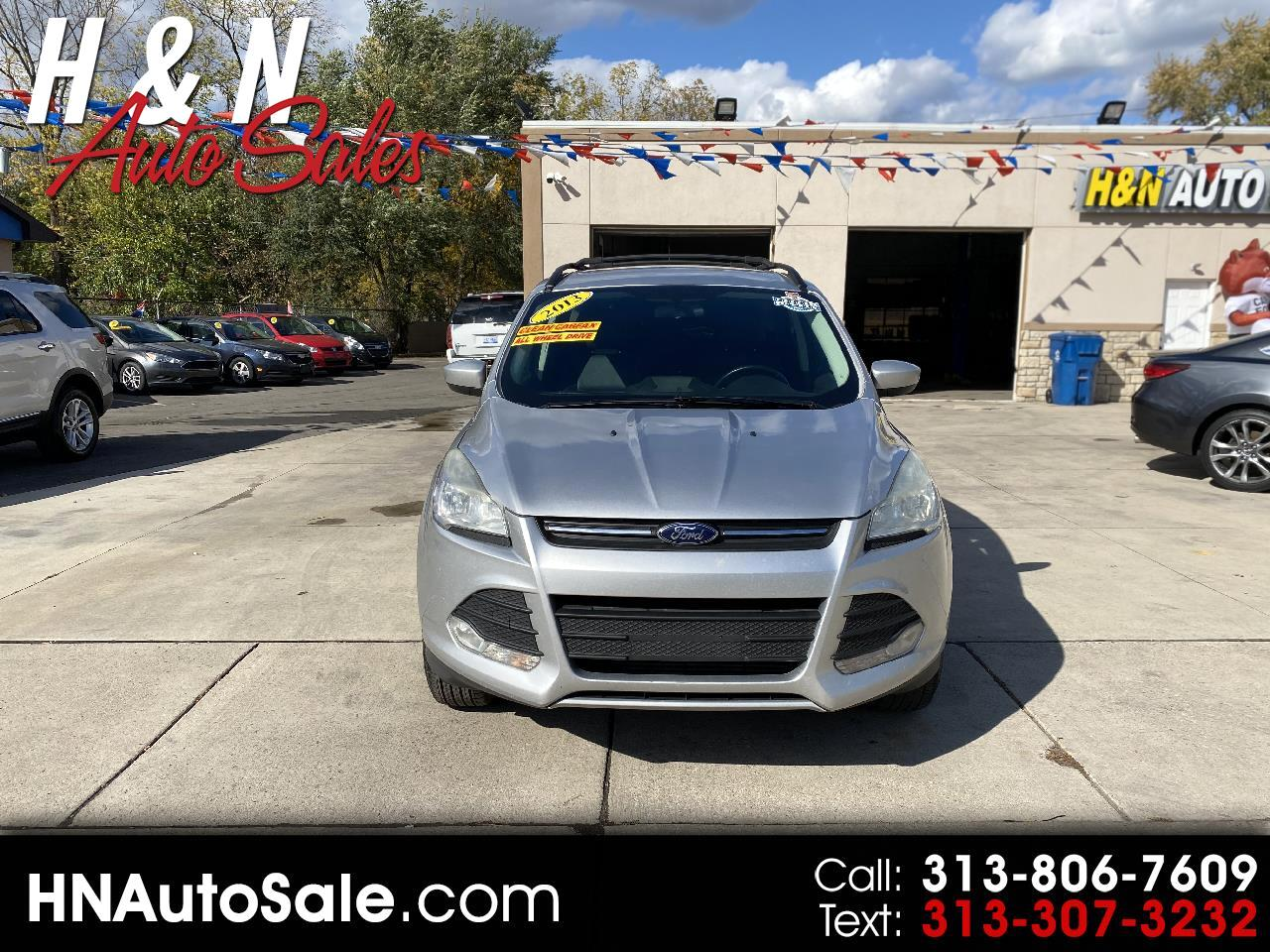 Ford Escape 4WD 4dr SE 2013