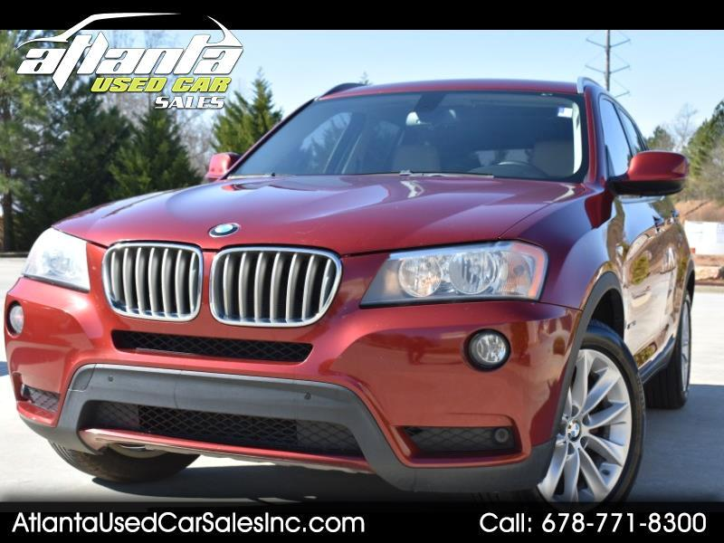 2013 BMW X3 AWD 4dr xDrive28i