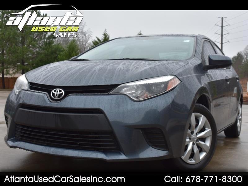 2014 Toyota Corolla 4dr Sdn Auto L (Natl)