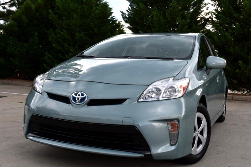 2013 Toyota Prius 5dr HB Five (Natl)
