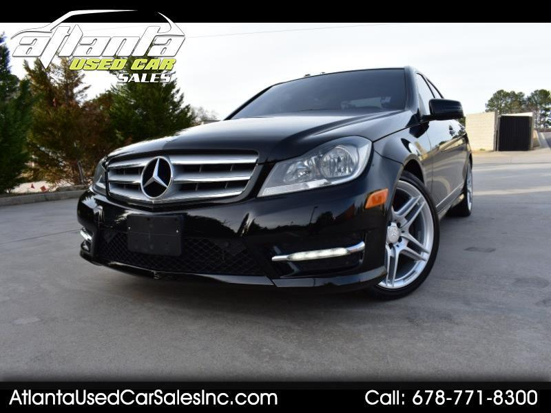 2013 Mercedes-Benz C-Class 4dr Sdn C 300 Luxury 4MATIC