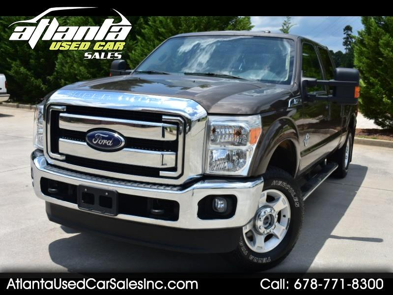 2016 Ford Super Duty F-250 SRW 6.7L XLT Power Stroke Diesel 4X4 Crew Cab