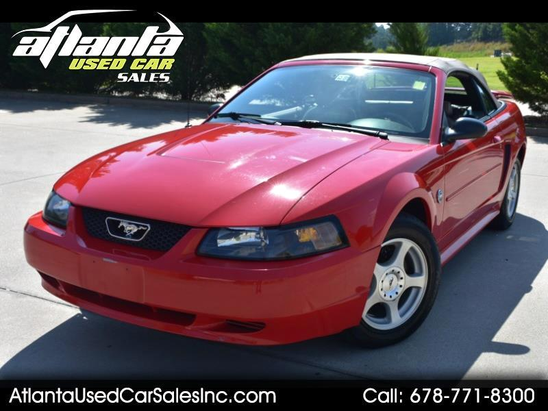 2004 Ford Mustang 2dr Convertible