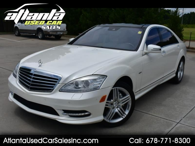 2012 Mercedes-Benz S-Class 4dr Sdn S 550 AMG