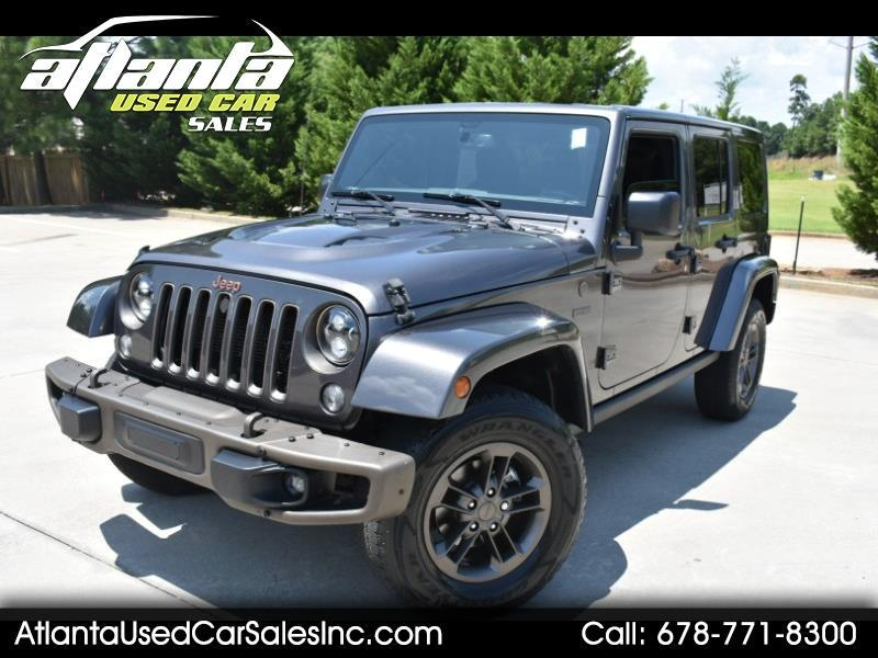 2016 Jeep Wrangler Sahara Unlimited 4WD 75th Anniversary Edition
