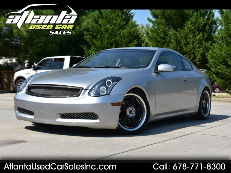 Infiniti G35 Coupe 2dr Cpe Manual w/Leather 2003