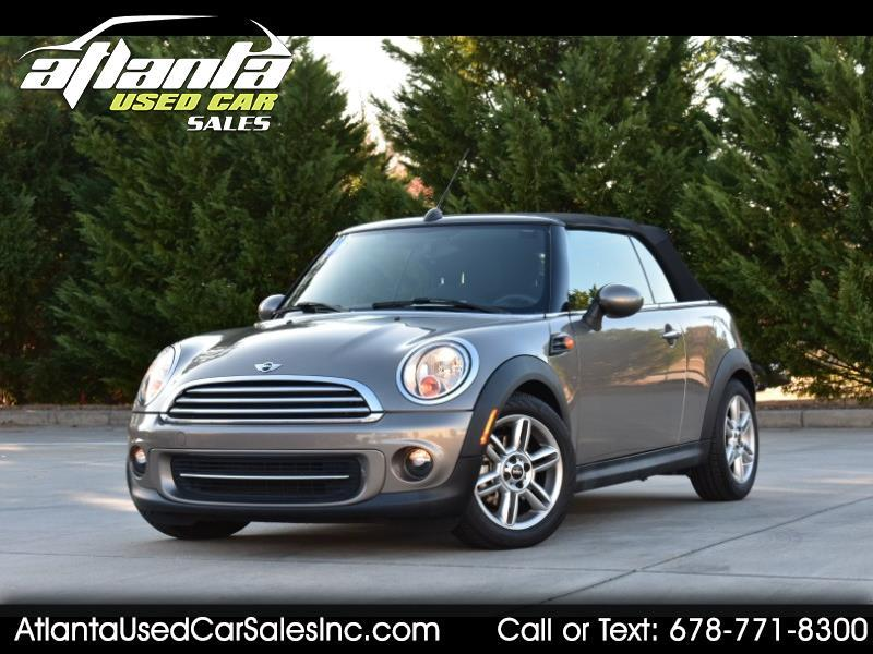 MINI Cooper Convertible 2dr 2013