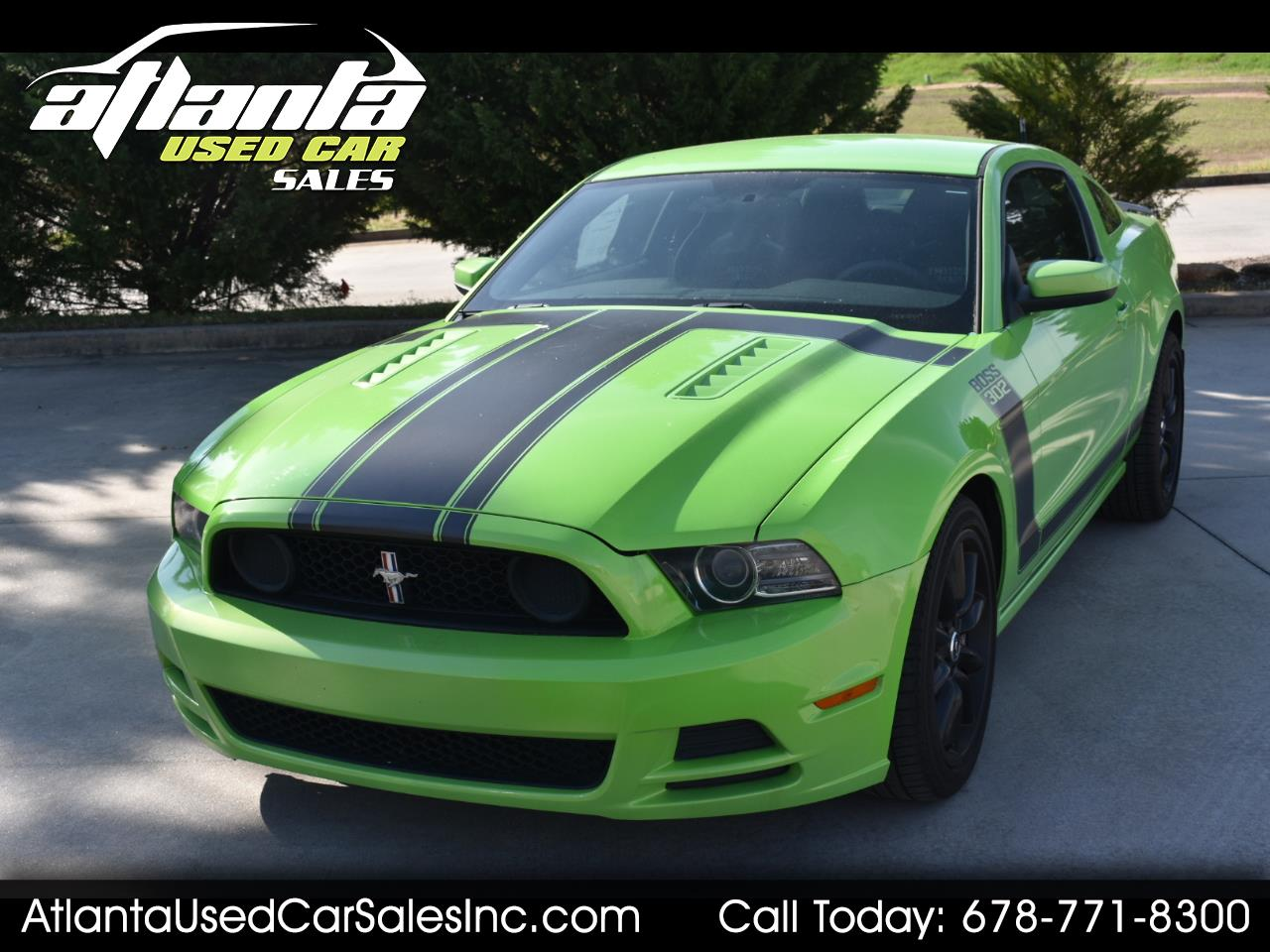 Ford Mustang 2dr Cpe Boss 302 2013