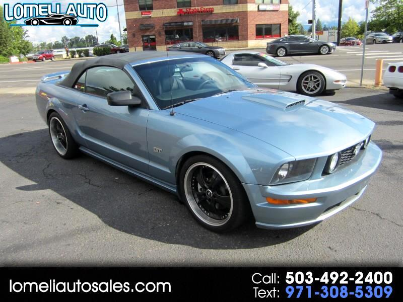 2007 Ford Mustang GT Deluxe Convertible