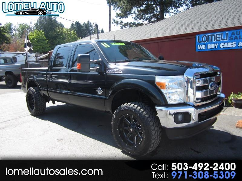 2011 Ford F-350 SD Lariat Crew Cab Short Bed 4WD
