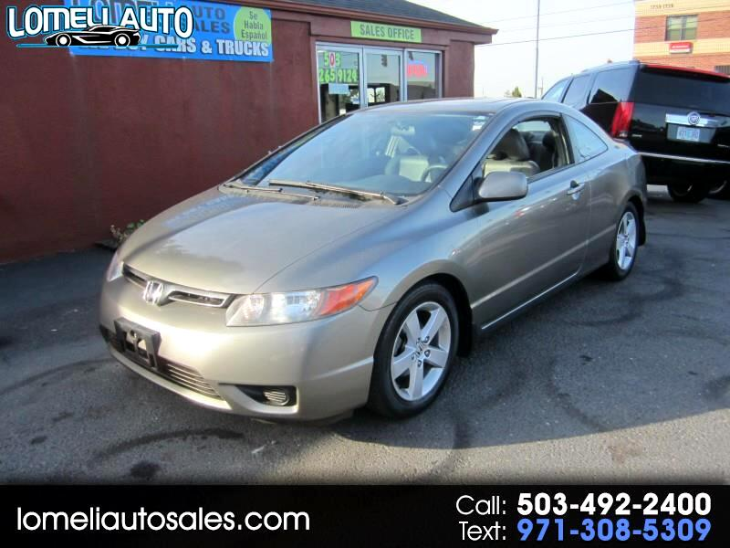 2007 Honda Civic EX Coupe AT with Navigation