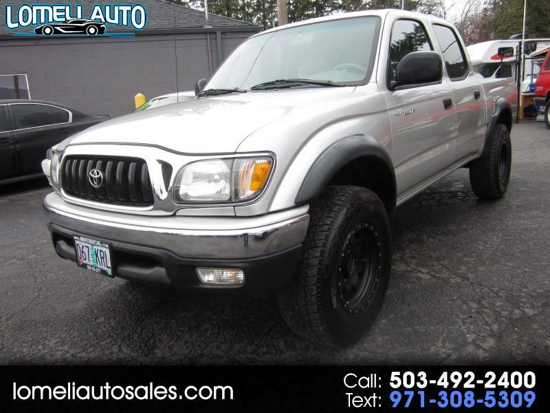 Toyota Tacoma PreRunner Double Cab V6 2WD 2002