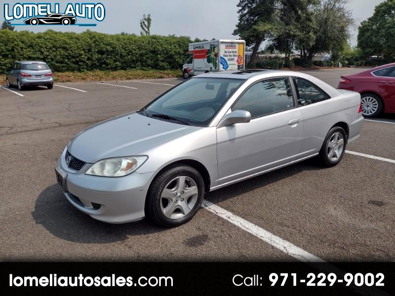 Honda Civic EX Coupe AT with Front Side Airbags 2004