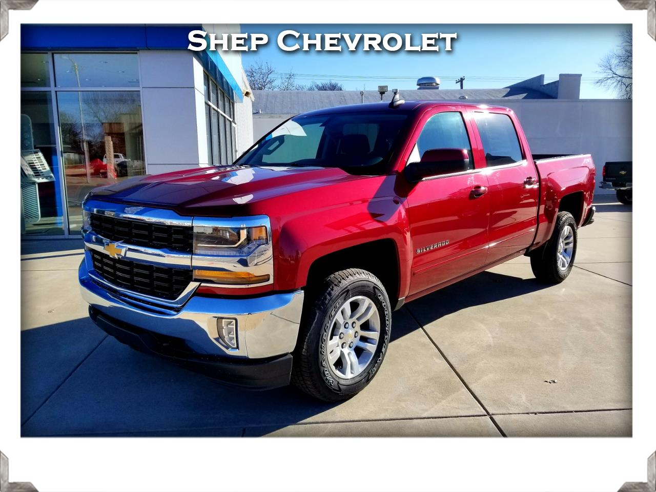 2018 Chevrolet Silverado 1500 4WD Crew Cab 1LT w/ All Star Edition